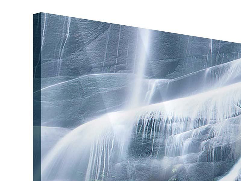 Modern 5 Piece Acrylic Print Magnificent Waterfall