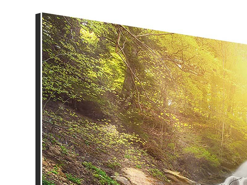 Panoramic Aluminium Print Natural Beauty
