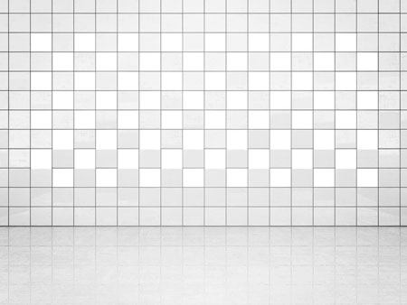 Tile Decor White (A700) Set of 20