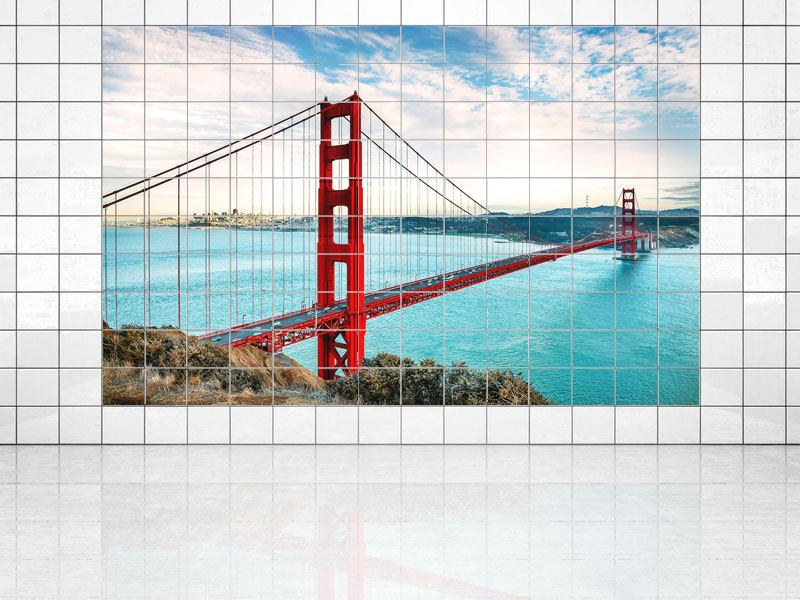 Impression pour Carrelage Golden Gate Bridge