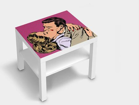 Furniture Foil Pop Art Longing