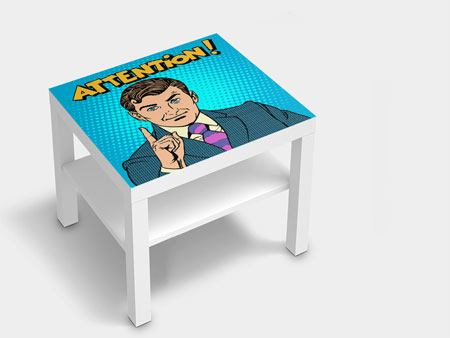 Furniture Foil Pop Art Attention