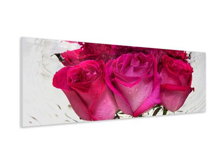 Panoramic Forex Print The Rose Reflection