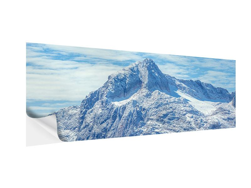 Panoramic Self-Adhesive Poster Peaceful Mountain Atmosphere