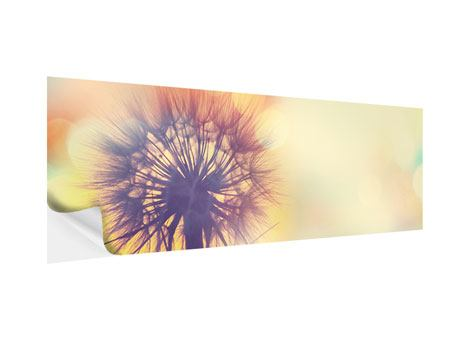 Panoramic Self-Adhesive Poster The Dandelion In The Light