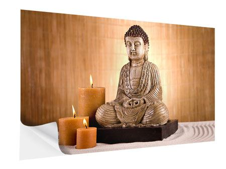 Self-Adhesive Poster Buddha In Meditation