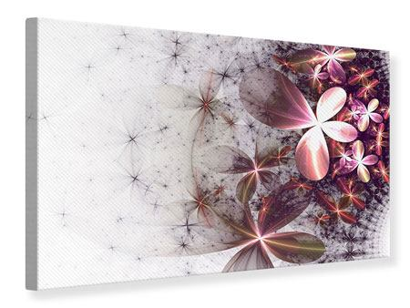 Canvas Print Abstract Floral