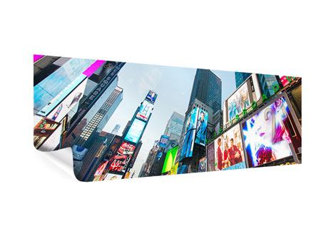 Poster Panoramica Shopping a New York