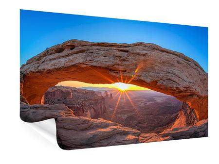 Poster Sunset At Mesa Arch