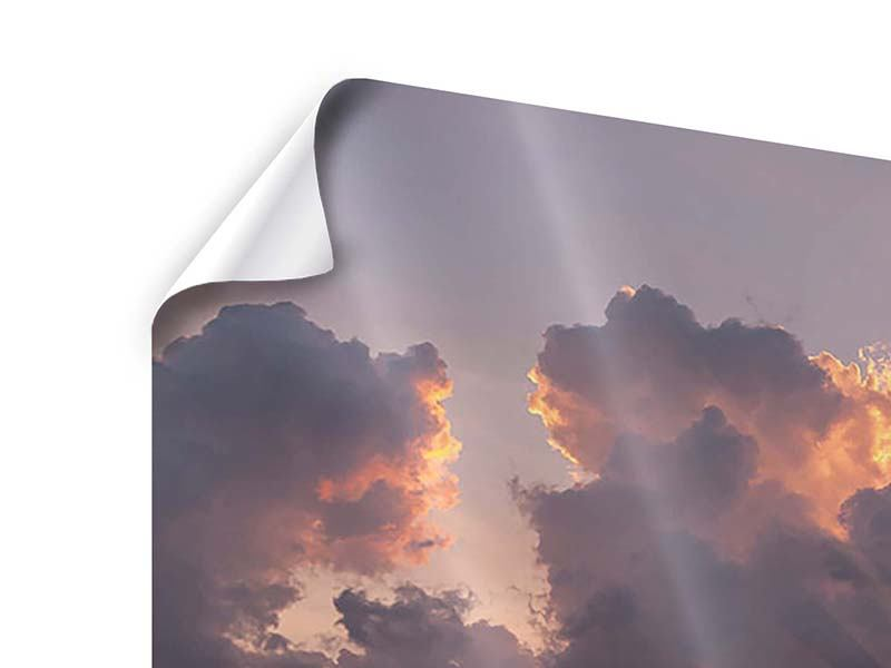9 Piece Poster Thrilling Sunset