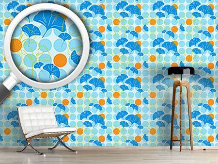 Design Wallpaper Ginkgo Dot