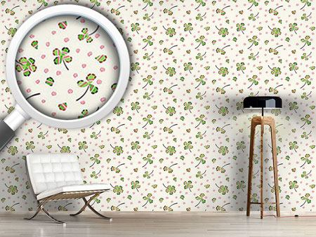 Design Wallpaper Luck And Leaf
