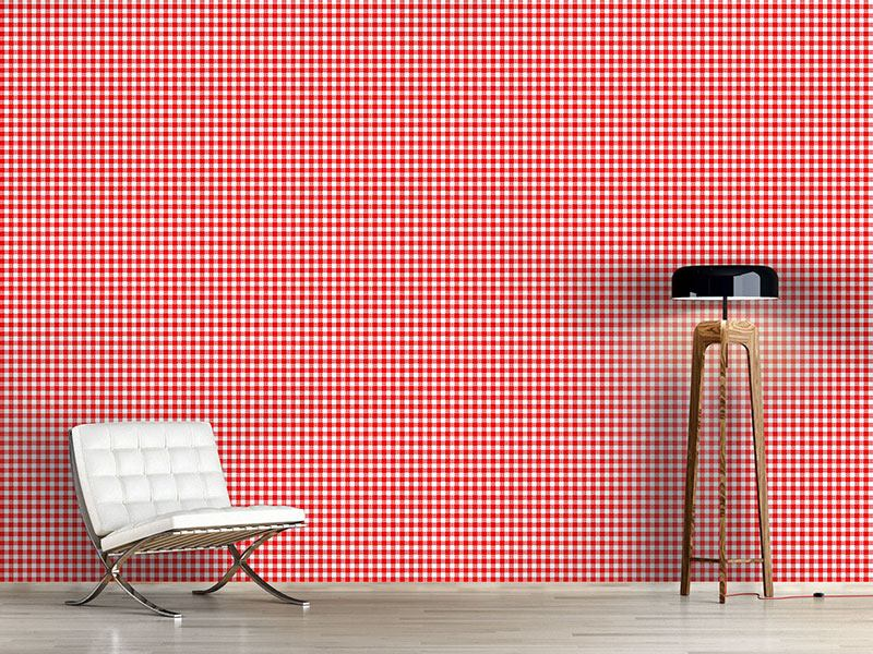Design Wallpaper Rustic Check