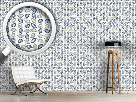 Design Wallpaper Leaves Collection