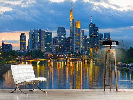 Photo Wallpaper Skyline Frankfurt
